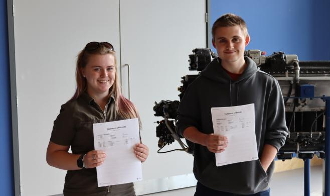 UTC students complete GE Aviation work experience